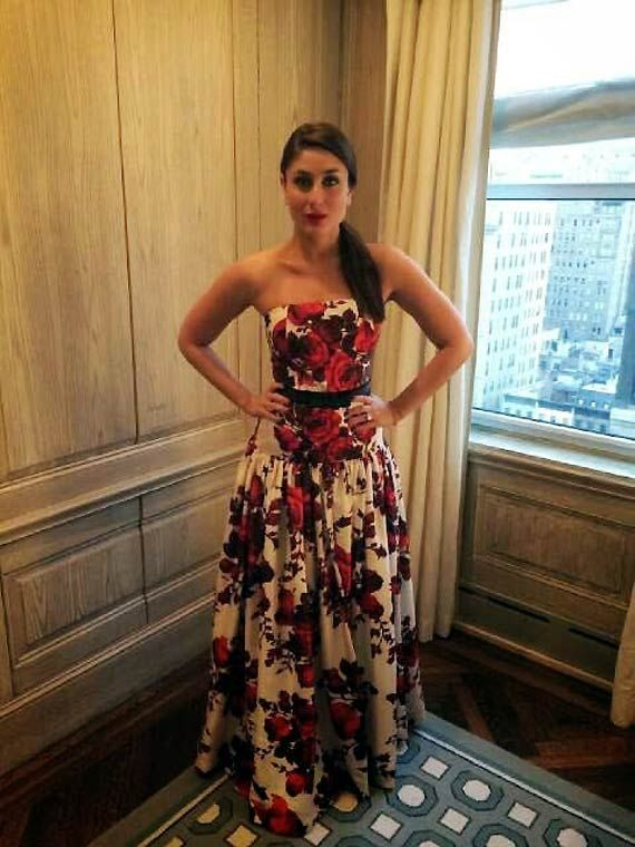 Kareena Kapoor stuns New York crowd in sexy gown (see pics)