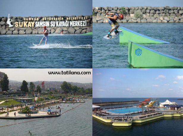 Samsun'da buluna Sukay Su Kayağı Merkezi, Karadeniz'in ilk ve tek su kayağı merkezidir.