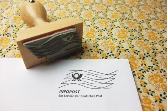 ドイツポスト ホルンマークのスタンプ ドイツ郵政 - *海外紙もの*輸入雑貨*ナチュラル雑貨*ラッピングのお店*プチタプチ鎌倉*