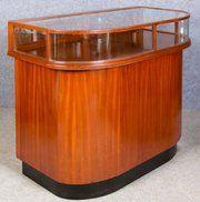 antique furniture art deco shop display cabinet