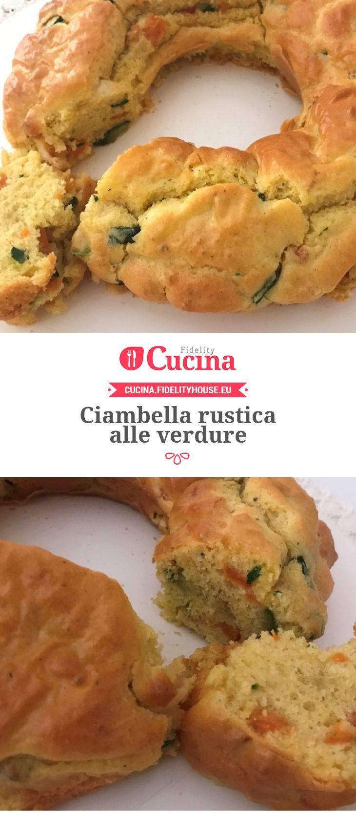 Ciambella rustica alle verdure