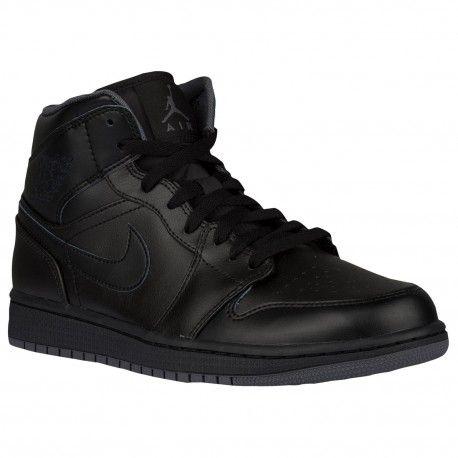$98.99 jordan shoes black and yellow,Jordan AJ1 Mid - Mens - Basketball - Shoes - Black/Black/Dark Grey-sku:54724021 http://jordanshoescheap4sale.com/1145-jordan-shoes-black-and-yellow-Jordan-AJ1-Mid-Mens-Basketball-Shoes-Black-Black-Dark-Grey-sku-54724021.html