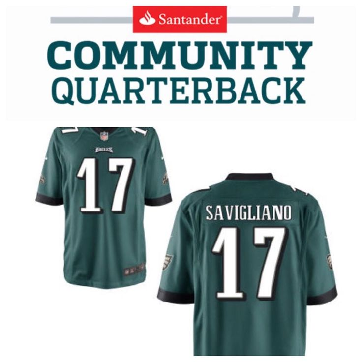 Our President Selected Philadelphia Eagles & Santander Bank's 2017 Community Quarterback. In partnership with Santander the Philadelphia Eagles are celebrating outstanding individuals in the Greater Philadelphia region through the inaugural Santander Community Quarterback program.  Our Founder Debbie Savigliano has been selected as one of those individuals.  The Santander Community Quarterback program honors those who exemplify leadership dedication and a commitment to improving the…