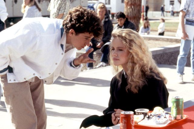 "Classic 80s. Patrick Dempsey in ""Can't Buy Me Love"" before he became McDreamy."