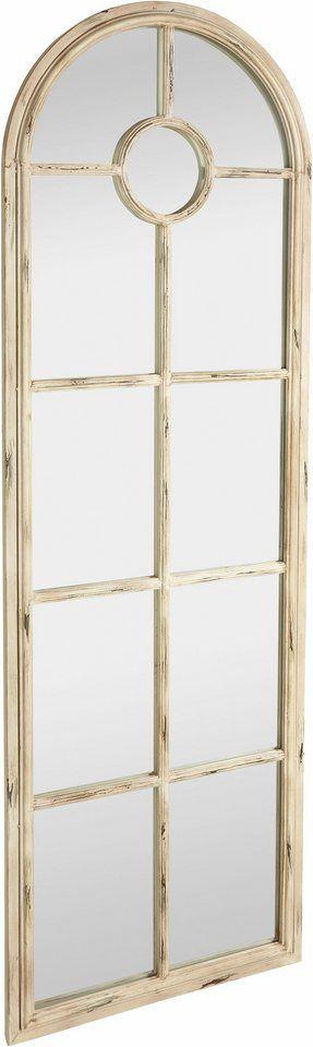 Home Affaire Standspiegel für 249,99€. Nostalgisch anmutender Standspiegel in antikem Finish, Spiegel in Fensteroptik bei OTTO