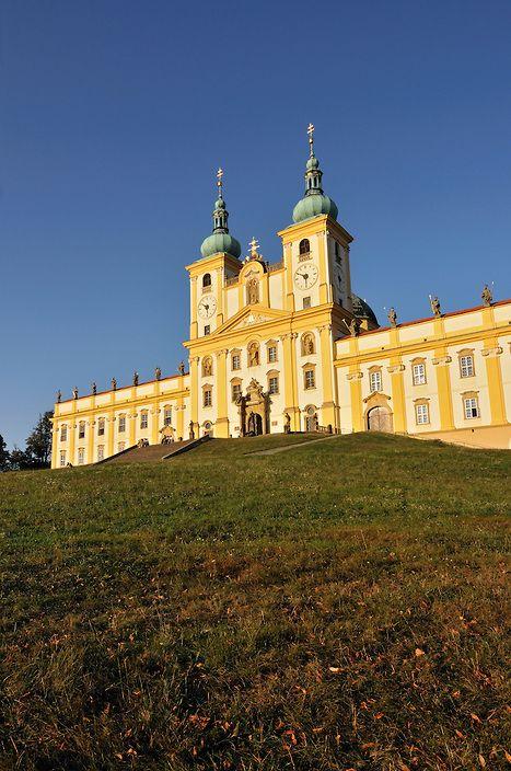 Baroque Basilica Minor (Church of Visitation of Virgin Mary) at Svaty Kopecek near Olomouc, Czech Republic | Petr Svarc Images