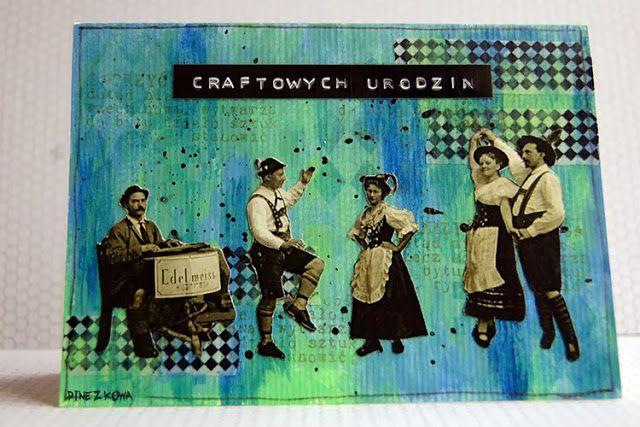 Pinezka - Project BIRTHDAY 'Craft Szafa Challenge Blog'