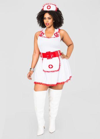Naughty Nurse Plus Size Costume