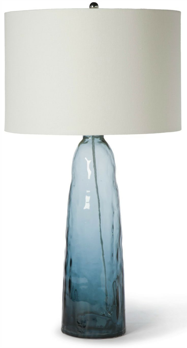 11 best Lamps images on Pinterest | Glass table lamps, Beach ...