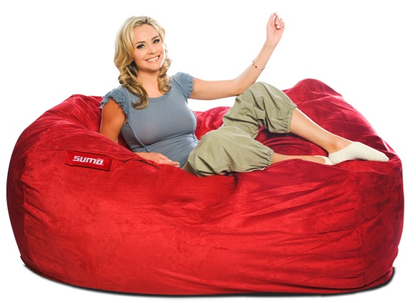 The Sumo Titan bean bag is designed for you to lay down and relax or sit side by side while videogaming! Available in 2 fabrics and 8 colors from just $399 with free shipping! www.sumolounge.com