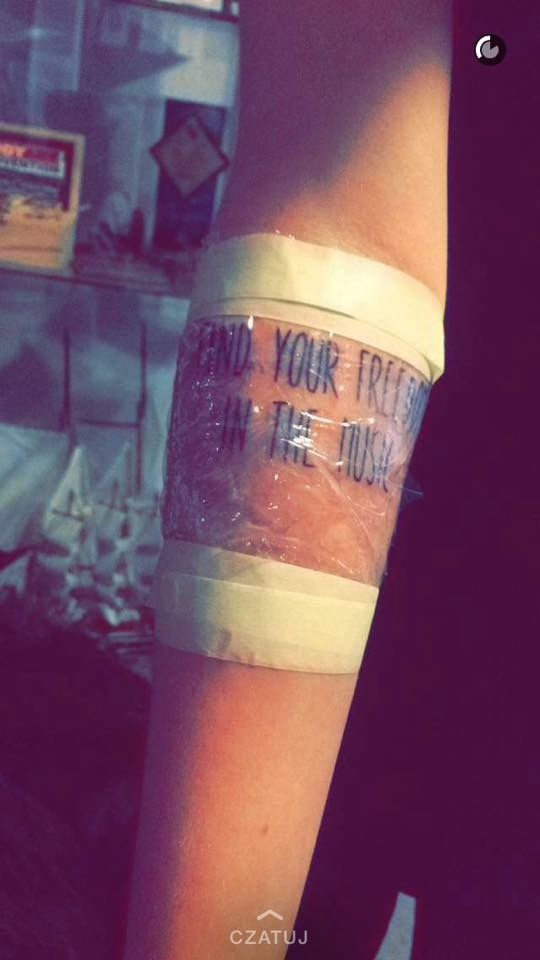 Mój dzień chwały... zrobienie pierwszego tatuażu 💉😍