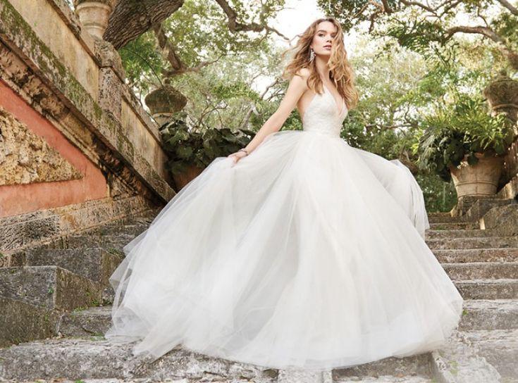la robe de mariée façon princesse jim hjelm