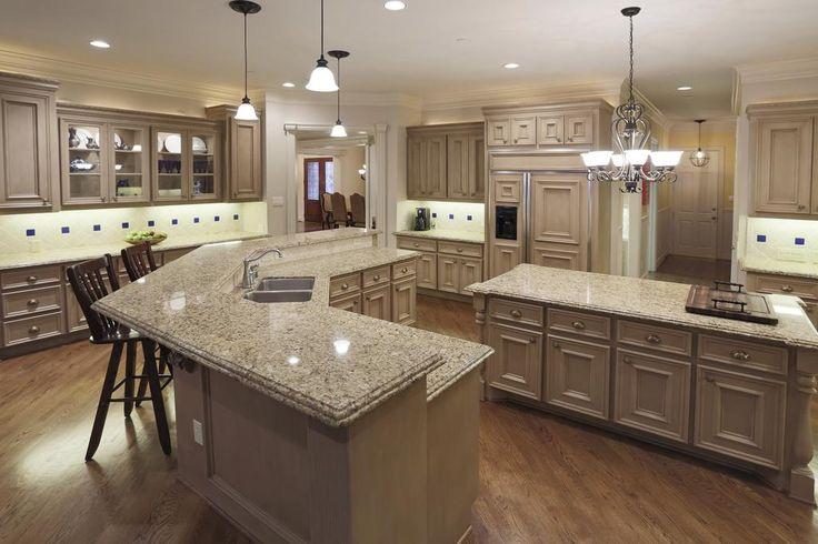 Chef S Kitchen Double Ogee Edge Granite Countertops