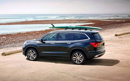 2017 Honda Pilot Elite Review UAE