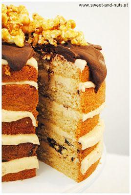 sweet 'n nuts!: Peanutbutter & Chocolate Cake