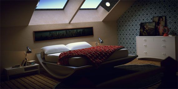 Inspiration And Ideas For Decorating An Attic Bedroom 34