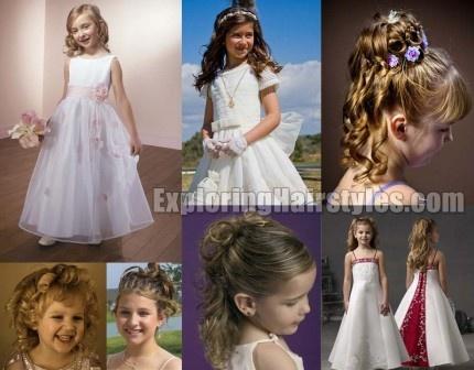 Wondrous 17 Best Ideas About Kids Wedding Hairstyles On Pinterest Hair Hairstyles For Men Maxibearus