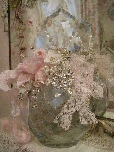 Altered perfume bottle