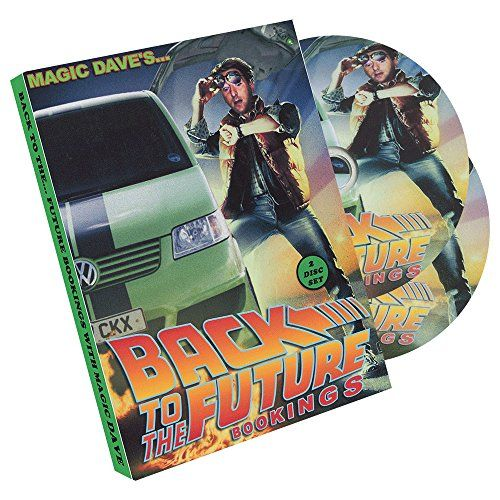 MMS Back to The Future Bookings 2 Disc Set by Dave Allen DVD @ niftywarehouse.com #NiftyWarehouse #BackToTheFuture #Movie #Film #Movies #Gifts