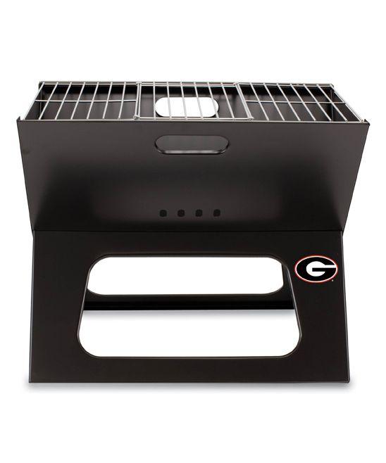 Georgia Bulldogs X-Grill Portable Charcoal Grill