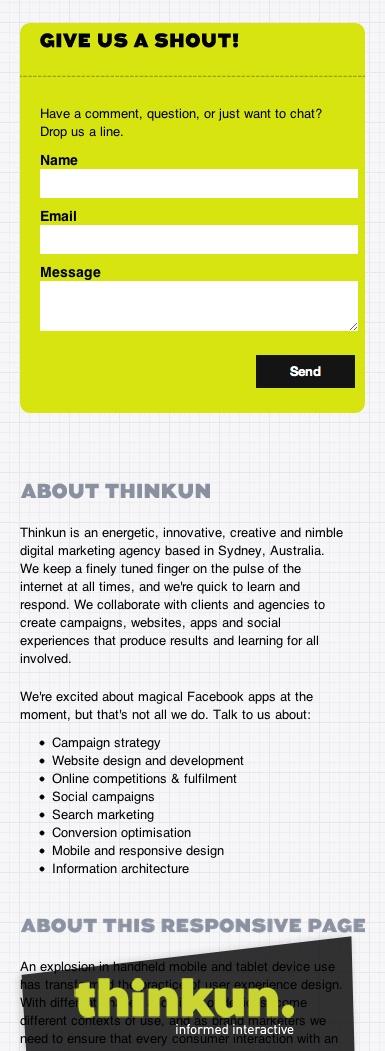 Thinkun magic