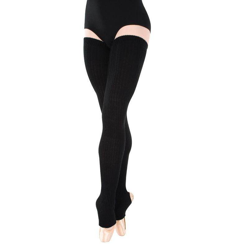 "48"" Stirrup Legwarmers - Style #92 at Discount Dance Supply"