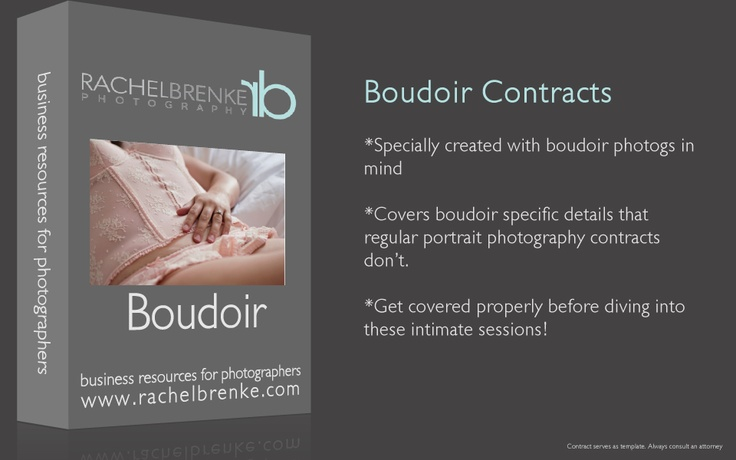 Introducing Boudoir Photography Contracts Legal Forms for - photography contracts