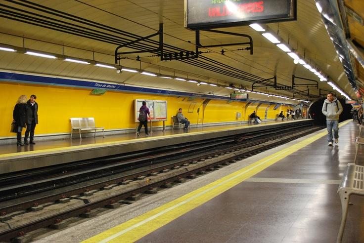 Madrid, colorata anche sottoterra