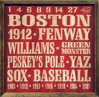 Boston Redsox Vintage Sign. #RedSox
