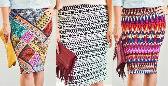 Stretch Pencil Skirt | XXS-XXL