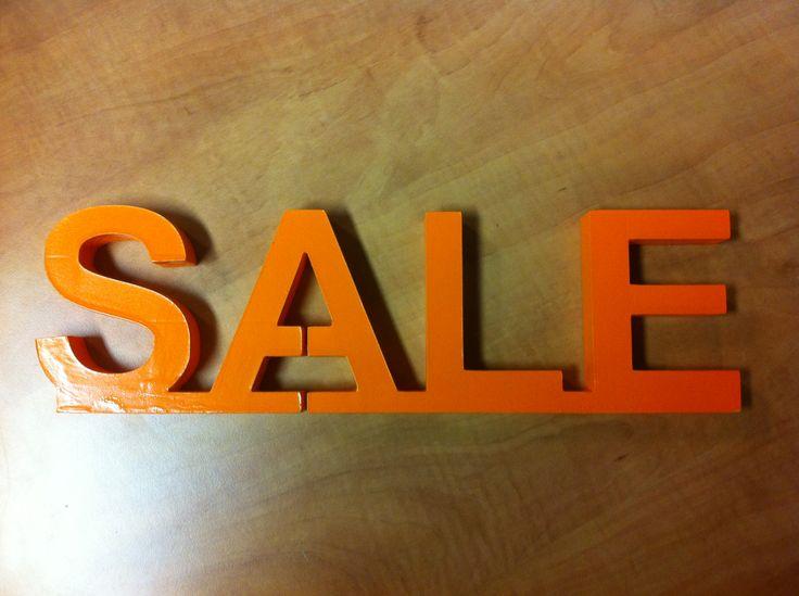 Piepschuim letters uit xps schuim uit één stuk gesneden