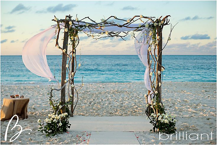 Beach Wedding Arch Ideas: Wedding In Turks And Cacios