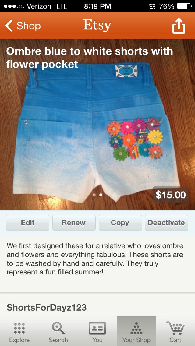 buy these awesome and cute shorts  on etsy- shortsfordayz123