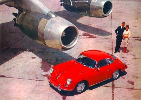 Porsche - I had one like this in Silver.  My little bullet ---- without the airplane!