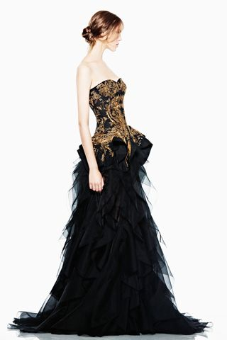 Alexander McQueen Ready-to-Wear Resort 2012 (22)