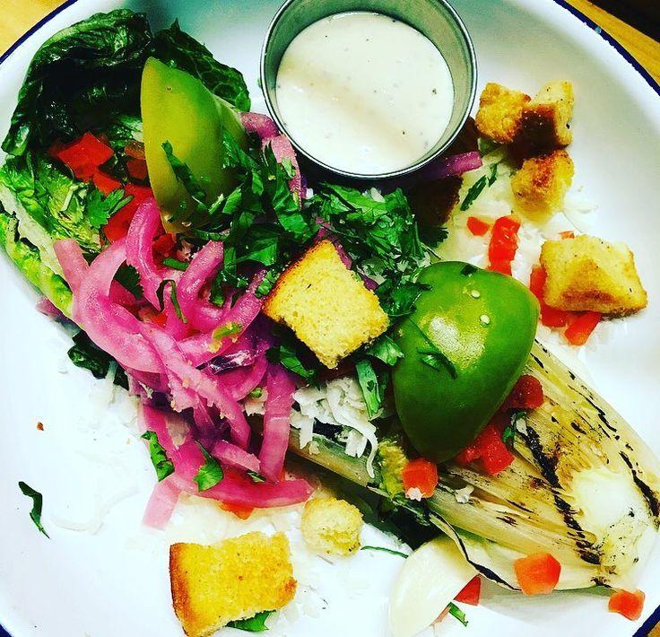 Organica Ensalada de Caesar #organic #fresh #caesarsalad #salad #decero #hellotacos #taco #tacos #foodporn #foodie #food #bar #restaurant #randolphstreetmarket #westloop @thewestloopisthebestloop #chicago #chicagofoodauthority @chicagofoodauthority @chicagotacos #chicagoeater #tgif #celebration #fiesta #eeeeeats #eattravelrock #lunch #dinner #delivery @snapcourier #healthy #mexican by decero_hellotacos
