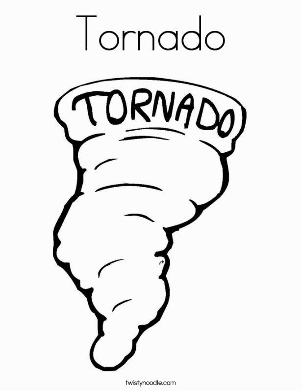 tornado coloring page coloring pages pinterest