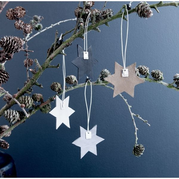 By Nord julepynt - julestjerne i læder