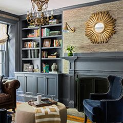 erin gates design portfolio living room - painted wood