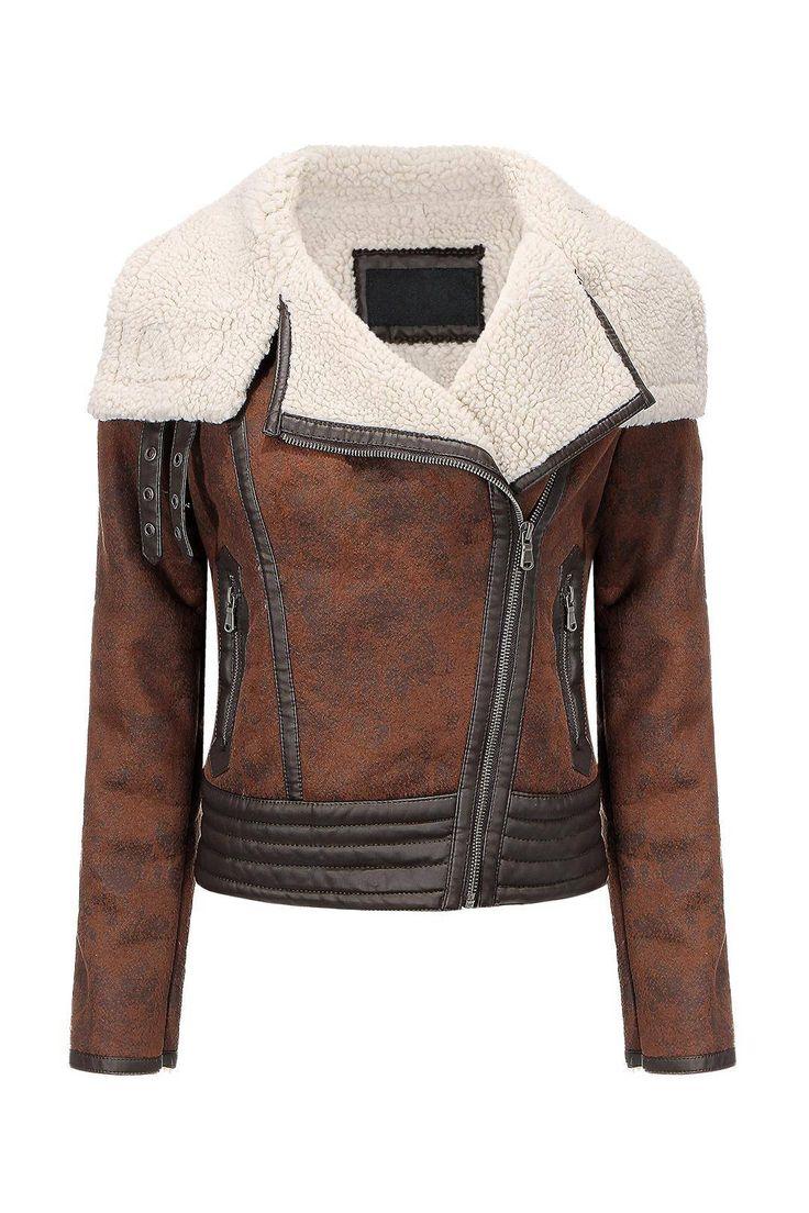 <3 dashing biker jacket for women