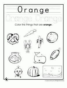 Learning Colors Worksheets for Preschoolers   Classroom Jr.