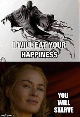 HP meets GoT ~ via Game of Thrones Memes Facebook page