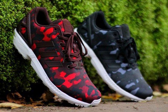 BIG SEAN x ADIDAS ZX FLUX (CAMO PACK)   Sneaker Freaker