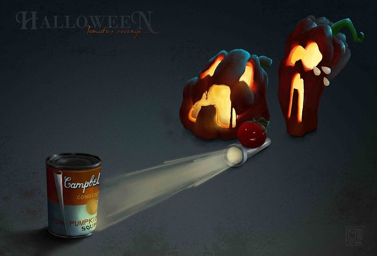 Illustration, digital paint on Behance #halloween / #digitalpainting / #illustration //
