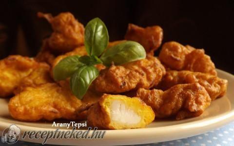 Karalábébundás csirkefalatok recept fotóval