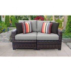 Outdoor Wicker Patio Furniture Loveseats 29 New Ideas Furniture