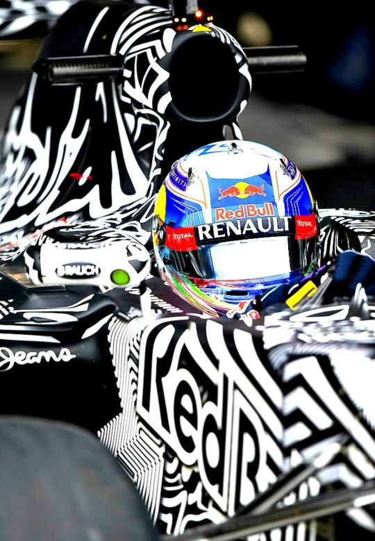 Daniel Ricciardo, Redbull, Jerez