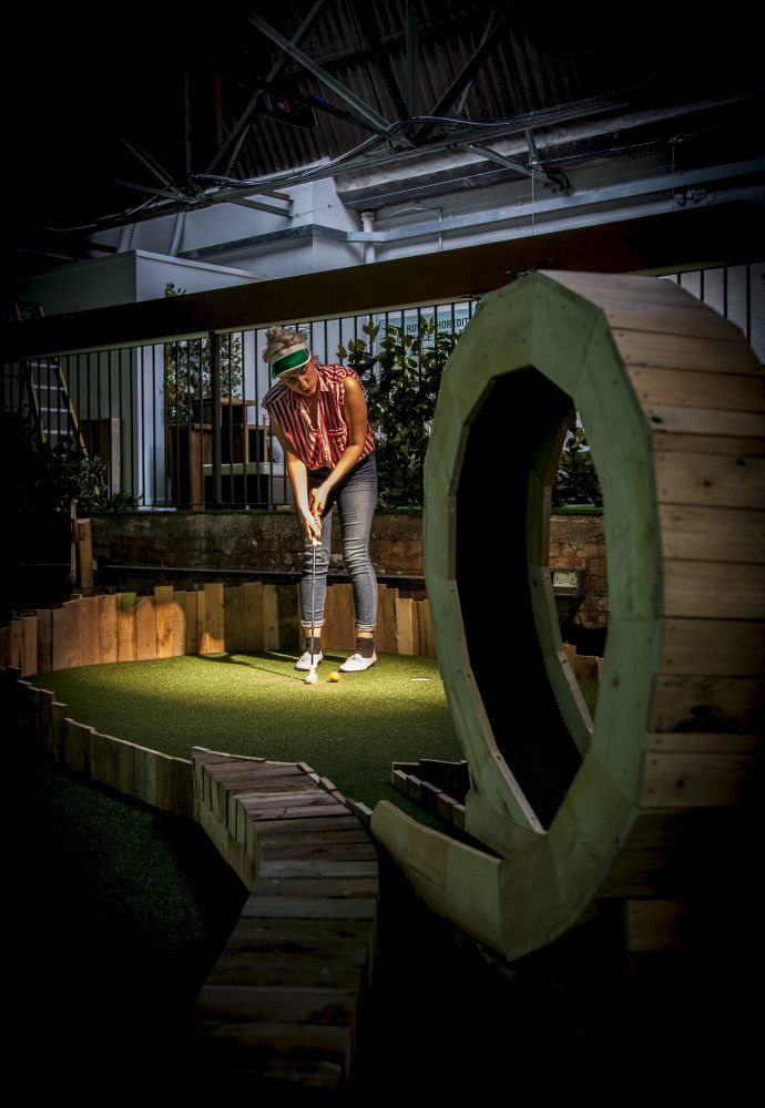 Need a break from the books? It's tee time rather than tea time on Time Out London's blog with a round up of this city's best crazy golf courses. capa.org/london
