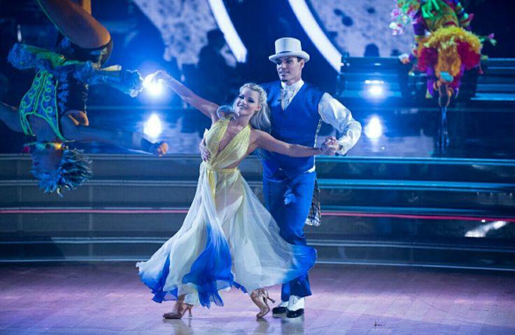 Vanilla Ice and Witney Viennese Waltz Cirque du Soleil Night
