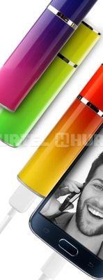 PURO ICON Universal External Battery - Uniwersalny Power Bank 2600mAh (Yellow/Red)